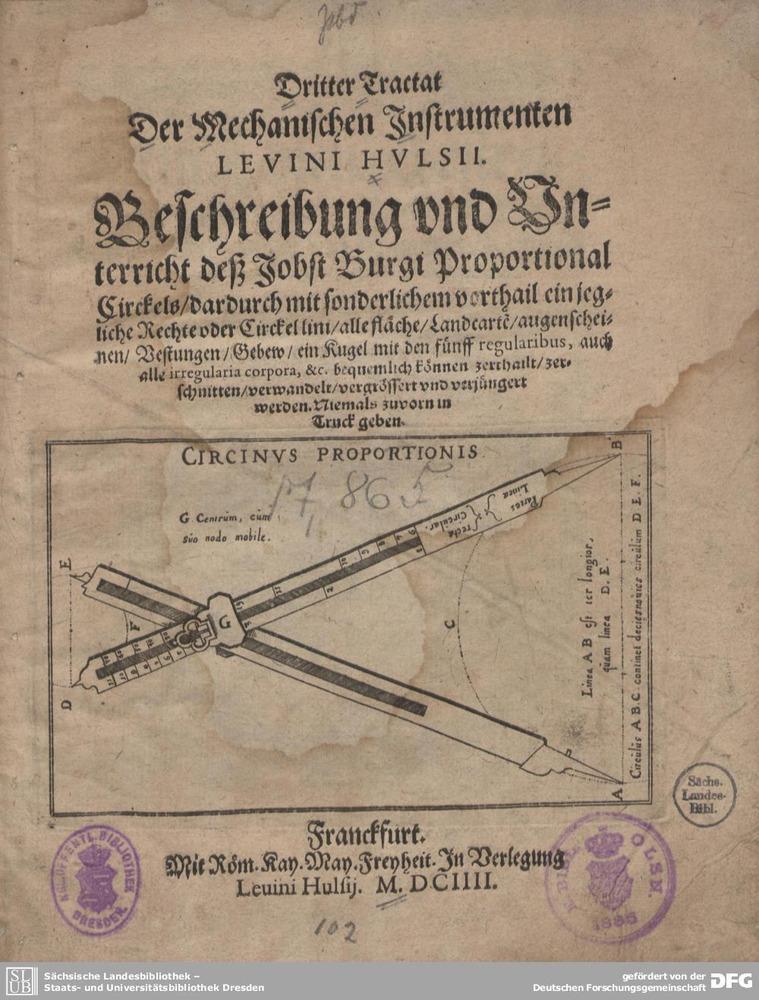 Dritter Tractat der mechanischen Instrumenten