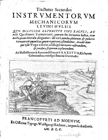 Tractatus Secundus: Instrvmentorvm Mechanicorvm